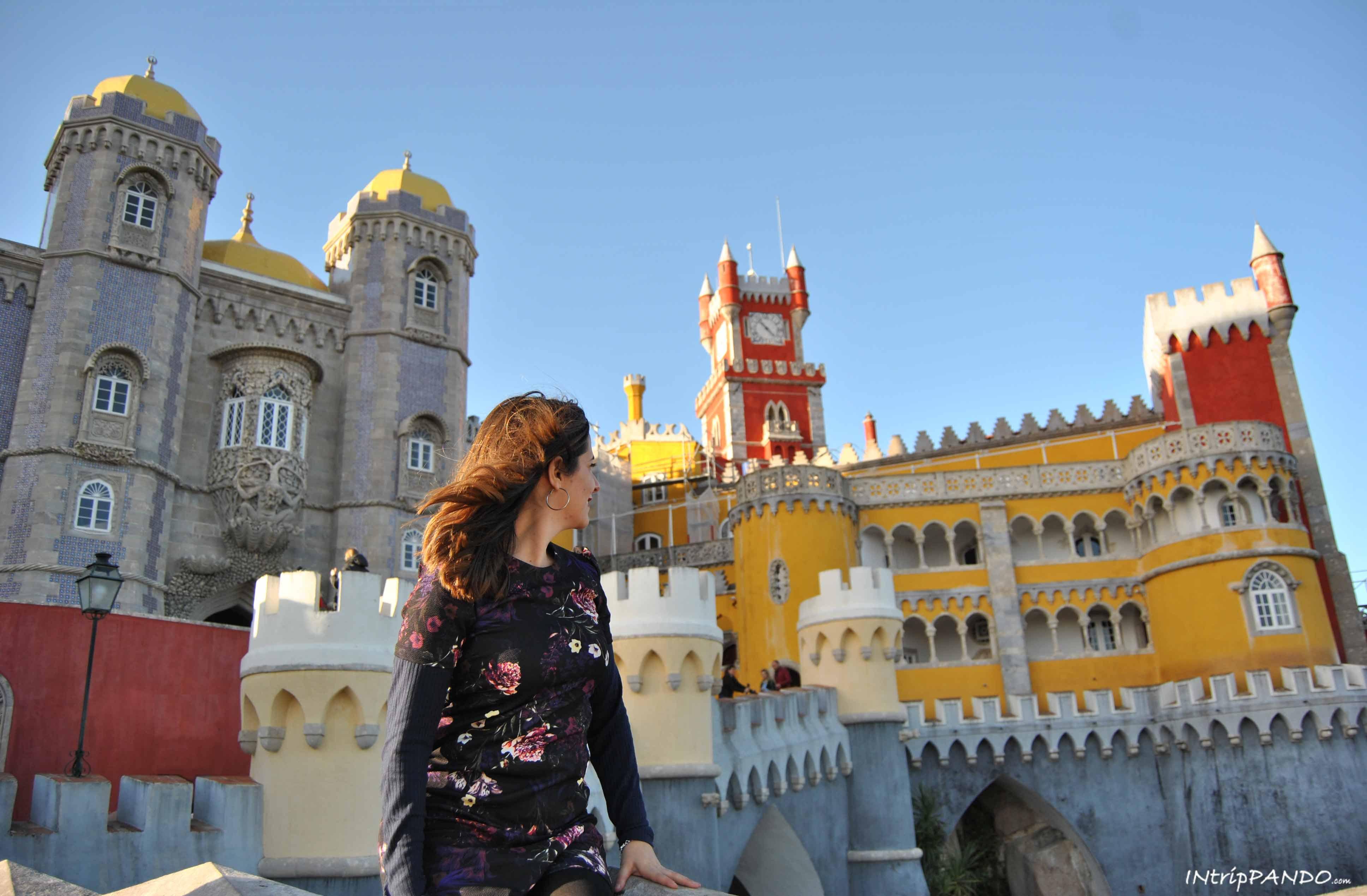 I colori di Palacio da Pena a Sintra